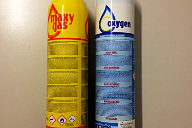 cartucce gas e ossigeno monouso