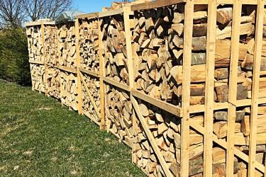 bancali di legna