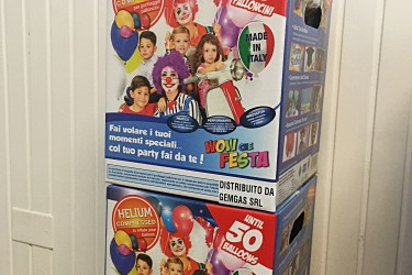 Bombole elio palloncini monouso